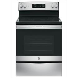 White Coil-Top Electric Range JBS360DM1WW Image